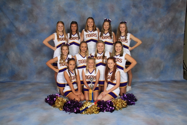 CA JV Cheerleaders